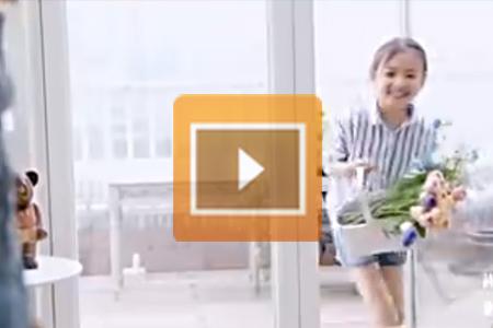 唯美视频-儿童节花束制作